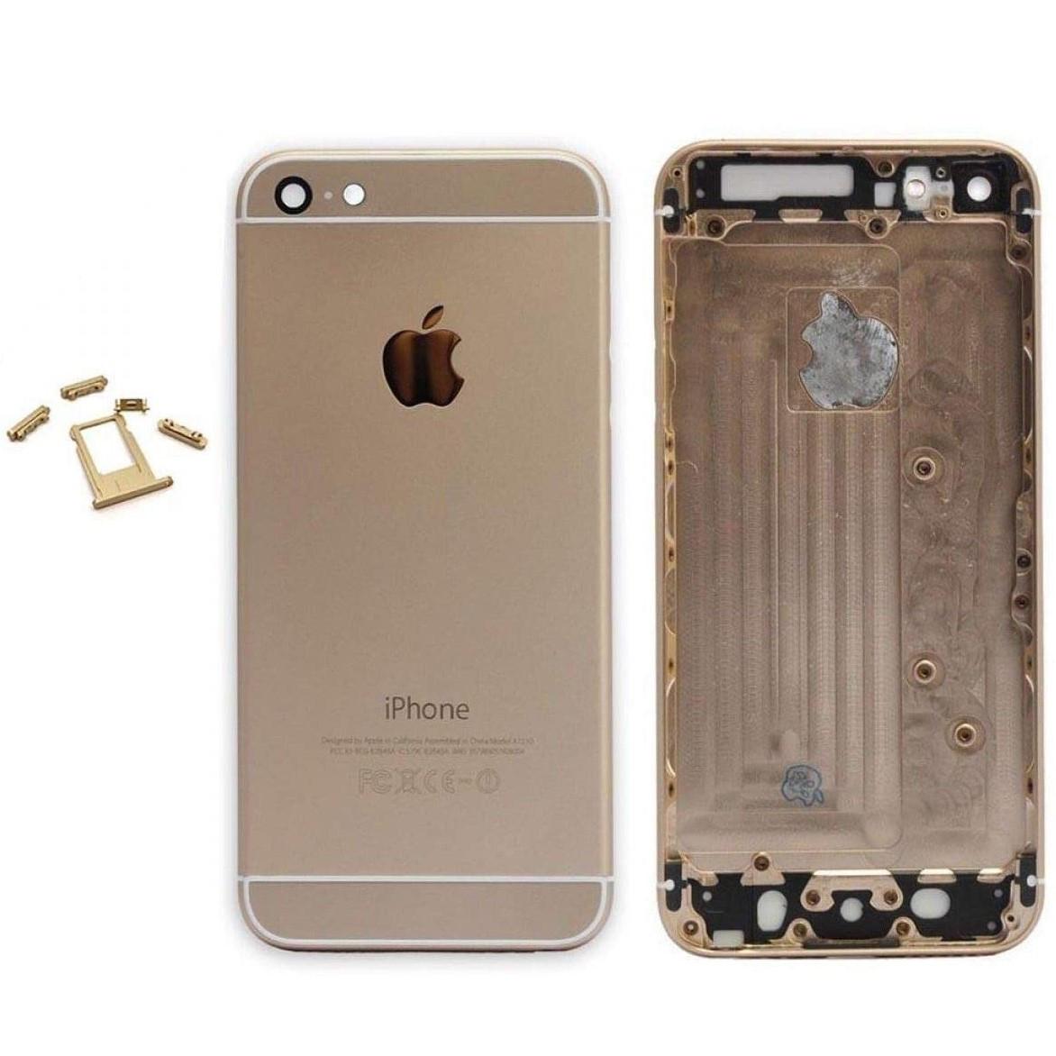 Задняя крышка (корпус) для iPhone 6 Plus Gold