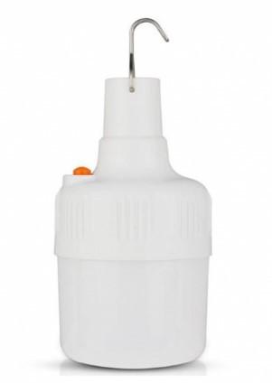 Фонарь лампа для кемпинга, отдыха подвесной на аккумуляторе YT-01 USB светильник Белый