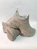 Женские кроссовки из натуральной кожи.