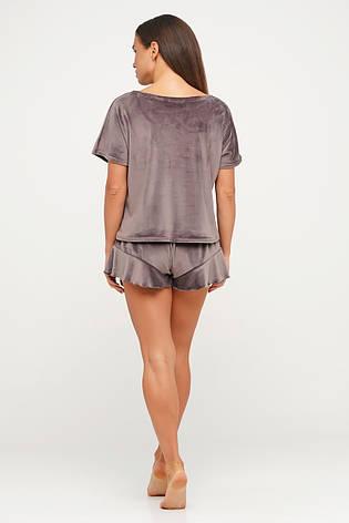 Шикарний піжамний комплект шорти і футболка TM Orli, фото 2