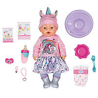 Кукла пупс Baby Born Нежные объятия Оригинал Бэби Борн Очаровательный Единорог 831311