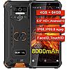 Телефон противоударный Oukitel WP5 PRO 4GB/64Gb, 8000mAh, 8 ядер, IP68, IP69 влагозащищенный - Фото