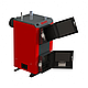 Бюджетный универсальный котел Kraft А 16 кВт из котловой стали работающий на любом твердом топливе, фото 4