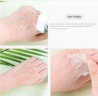 Маска-плёнка для лица с муцином улитки Jigott Black Snail Pure Clean Peel Off Pack 180 мл, фото 4