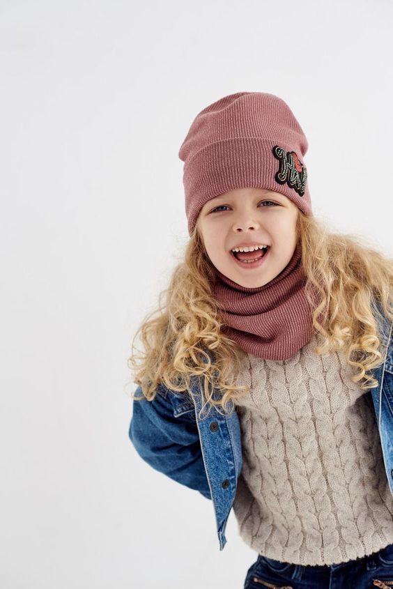 стильные шапки для девочек