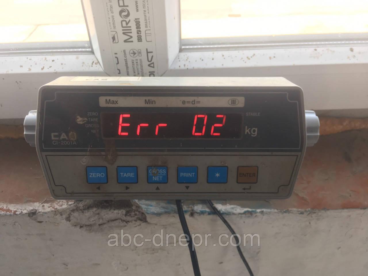 Ремонт автомобильных весов после перепадов напряжения