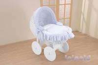 """Плетенная люлька для новорожденного Leipold """"Kids"""" (с капюшоном), расцветки в ассортименте"""