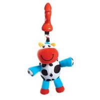 """Мягкая игрушка-подвеска Tiny Love """"Коровка Хлоя"""" (с прищепкой)"""