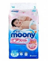 Подгузники Moony L RS54, 9-14кг