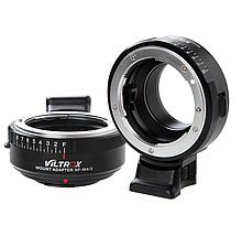 Адаптер Viltrox NF-M43 для Nikon F на байонет Micro 4/3 (Panasonic, Olympus, Blackmagic), фото 2
