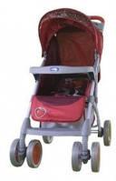 Прогулочная коляска Bambini King Red Strawberry  (чехол)