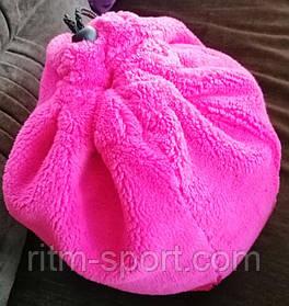 Чехол для мяча гимнастического розовый