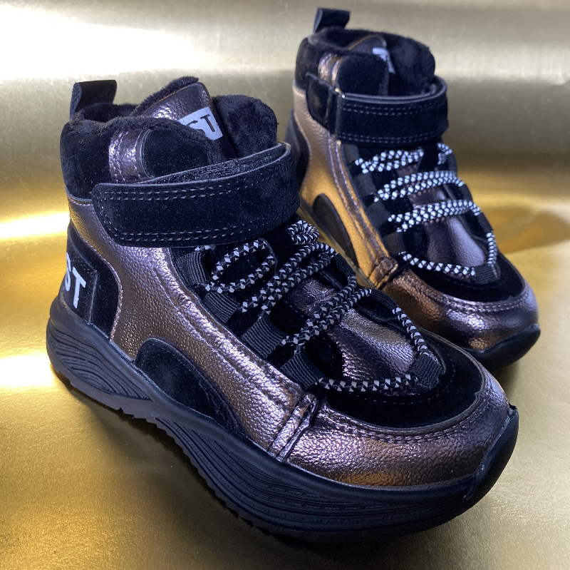 Дитячі черевики-кросівки для хлопчика та дівчинки