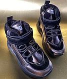 Дитячі черевики-кросівки для хлопчика та дівчинки, фото 3