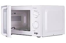 Мікрохвильова піч ERGO Y30MW 700 Вт Білий, фото 2