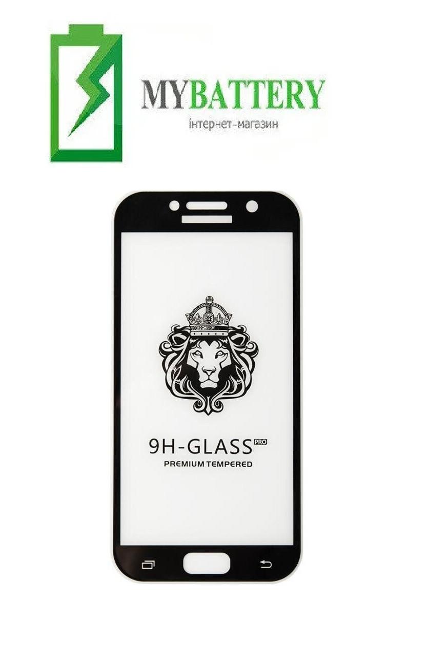 Защитное стекло Huawei Mate 20X 5D чёрное*