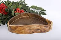 Декоративная менажница из ореха, фото 1