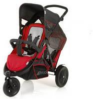 Прогулочная коляска для двойни Hauck - Freerider, цвет красный