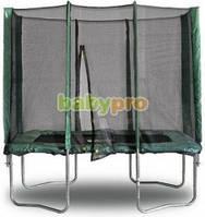 Прямоугольный батут с сеткой Kidigo 215 х 150 см