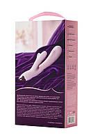 Вібромасажер Eromantica Meryl, силікон, рожевий, 22,5 см, фото 5