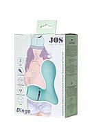 Вакуумний стимулятор клітора з язичком Jos Dingo, силікон, м'ятний, фото 7