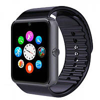 Умные часы телефон Smart Watch Phone GT08 + подарок карта памяти 16Gb