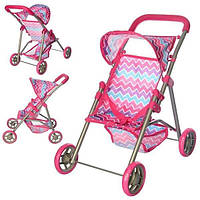 Игрушечная детская коляска MELOGO 9304 D