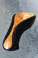 Стимулятор зовнішніх інтимних зон Waname D-Splash Surf, силікон, чорний, 10,8 см, фото 8