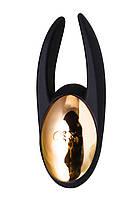 Вібромасажер Waname D-Splash Wave силікон чорний, 9,3 см, фото 3