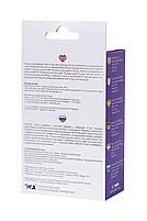 Анальна пробка з вібрацією A-Toys By Toyfa розміру M, вологостійка, силікон, фіолетова, 12,9 см, фото 4