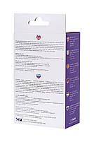 Анальна пробка з вібрацією A-Toys By Toyfa розміру L, вологостійка, силікон, фіолетова, 14 см, фото 5