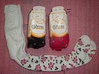 Колготки для новорожденных махровые 2013 мелкая розочка