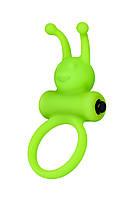 Ерекційне кільце на пеніс A-Toys By Toyfa, силікон, зелений, ø 3,1 см, фото 3