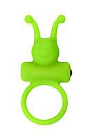 Ерекційне кільце на пеніс A-Toys By Toyfa, силікон, зелений, ø 3,1 см, фото 7