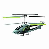 Радиоуправляемый вертолет Auldey Navigator круиз-контроль (зелёный, 20 см, с гироскопом, 3 канала)