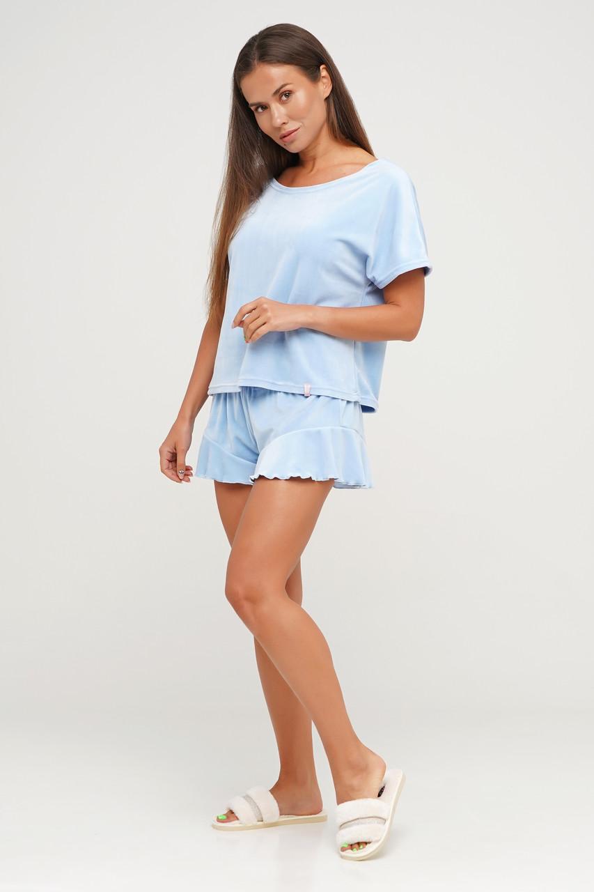 Плюшевая  пижама шорты и футболка TM Orli