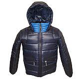 ОПТОМ Зимова підліткова куртка, Тоні, розміри 36-44, фото 3