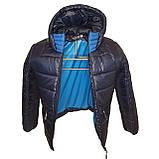 ОПТОМ Зимова підліткова куртка, Тоні, розміри 36-44, фото 6