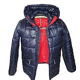 ОПТОМ Зимова підліткова куртка, Тоні, розміри 36-44, фото 5