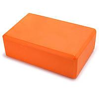 Блок для йоги (EVA 180гр, р-р 23x15,5x8см, цвета в ассортименте)
