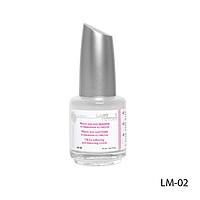 Масло для ногтей и кутикулы LM-02 - 18 мл (смягчающее с витаминами),