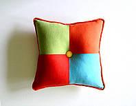 Подушка в стиле лофт, подушка ручной работы пэчворк