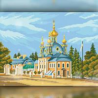 Алмазная вышивка мозаика The Wortex Diamonds Церковь 30x40см TWD30037 полная зашивка квадратные стразы. Набор, фото 1