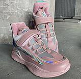 Дитячі черевики-кросівки для хлопчика та дівчинки розові, фото 6