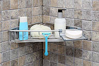 Полка в ванную комнату Primanova PALOMA, алюминиевая N30-30