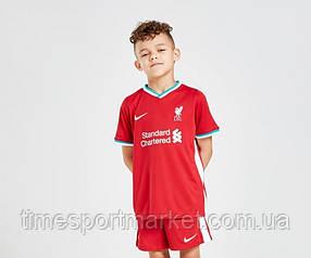 Дитяча Футбольна форма Ліверпуль домашня сезон 2020-2021 (Оригінальна Репліка)