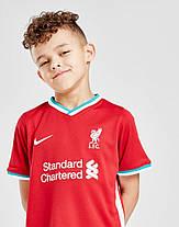 Детская Футбольная форма Ливерпуль домашняя сезон 2020-2021 (Оригинальная Реплика), фото 2