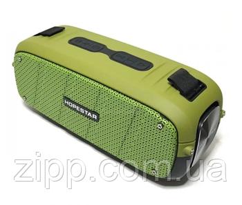 Портативная Bluetooth колонка Hopestar A20 Акустическая стерео система с аккумулятором Зеленая