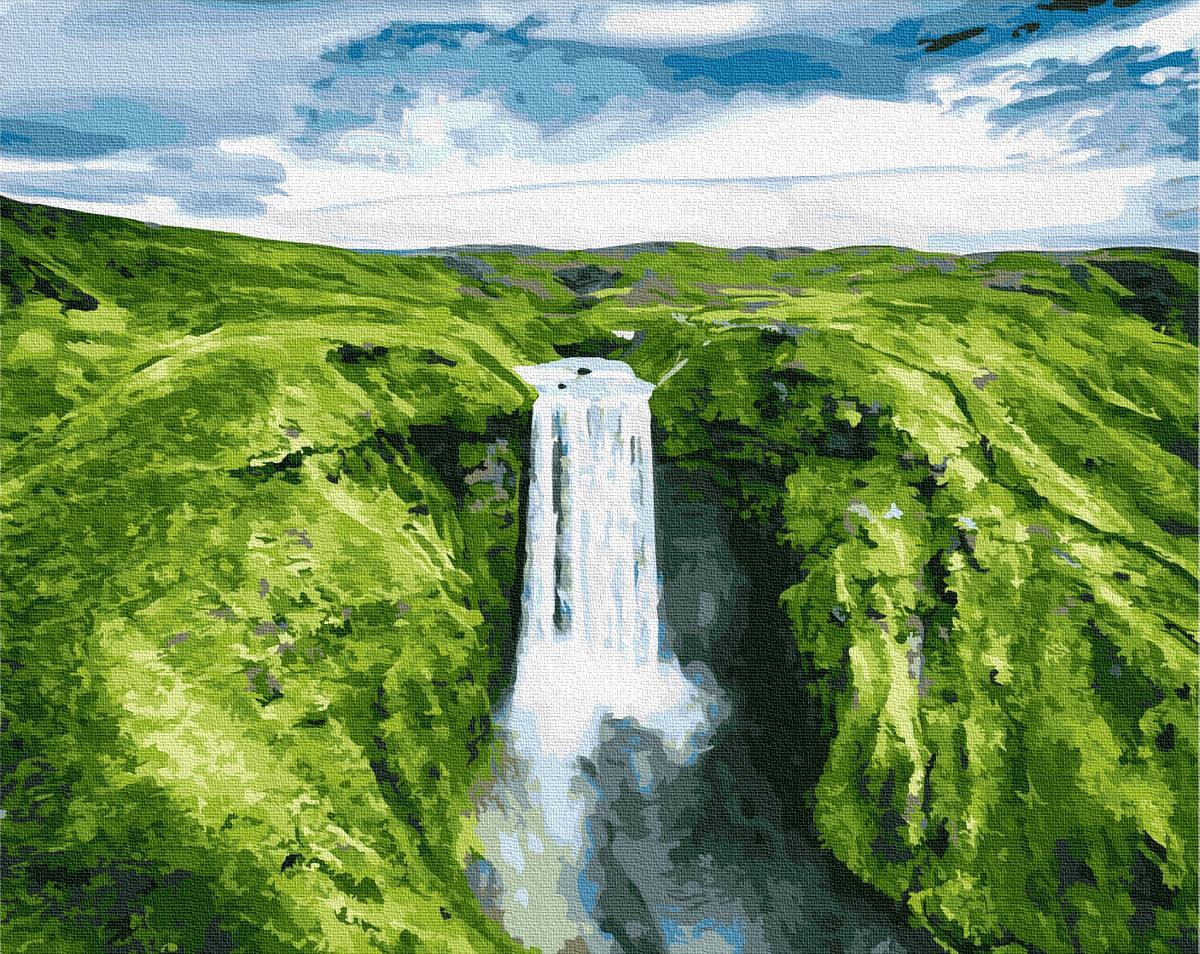 Картина рисование по номерам Brushme Место силы GX27586 40х50см набор для росписи, краски, кисти, холст