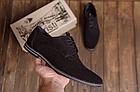 Туфли мужские классические из натуральной замши VanKristi, фото 2